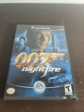 007 Nightfire James Bond Nintendo Gamecube Complete w/ Manual TESTED Fast Ship!
