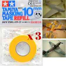 Tamiya 87034 Masking Tape Refill 10mm for Paint Model RC Car Plane Craft (3pc)