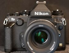 Nikon Df 16.2MP Digital SLR Camera - with 50/f1.8 lens, only 390 clicks