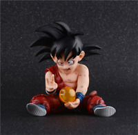 Anime Dragon Ball Z Childhood Son Goku PVC Action Figure Figurine Toy Gift 10CM