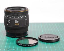 Sigma EX 50mm f/2.8 AF 1:1 Macro Lens for Minolta-A / Sony
