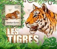 Togo - 2019 Tigers on Stamps - Stamp Souvenir Sheet - TG190207b