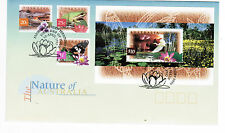 1997 Nature of Australia Wetlands $10 Minisheet   FDC First Day Cover