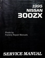 1995 Nissan 300ZX Factory Service Manual Original Shop Repair Book