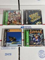Lot of 4 Playstation 1 PS1 Factory Sealed Games - APE ESCAPE / RAYMAN + More