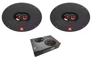 Pair of JBL 6x9 510W 3 Ohm 3-Way Coaxial Car Speakers CLUB 9632