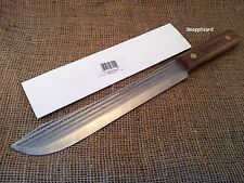 "Ontario Knife Old Hickory 10"" LARGE Butcher Knife ,Hunting,Kitchen,Camp,Knife"
