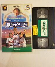WALT DISNEY VINTAGE ANGELS IN THE OUTFIELD KOREAN ORIGINAL VHS TAPE  1995