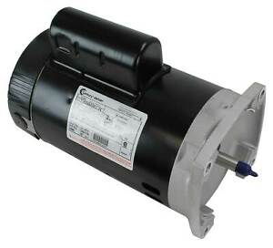 A.O. Smith Century B2854 Up-Rate 1.5HP Square Flange Pool/Spa Replacement Motor
