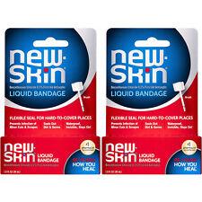 2 Pack - New-Skin First Aid Antiseptic Liquid Bandage 1 fl oz (30 ml) Each