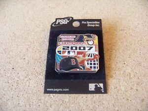 2007 Boston Red Sox AL A.L. American League Champions lapel pin PSG