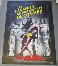 Affiche de cinéma :LES CADAVRES NE PORTENT PAS DE COSTARDS de Carl REINER