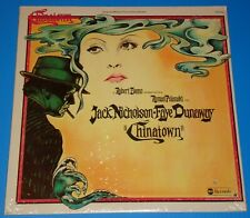 CHINATOWN soundtrack- Goldsmith -original 1974 USA vinyl LP, NEW & STILL SEALED