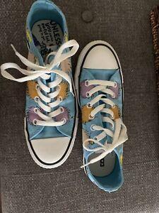 Converse Dr. Seuss The Lorax Unisex Low Top Shoe Size Mens 5 Womens 7