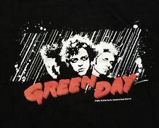 Green Day 2005 Comic Book Movie Mashup Billie Joe Armstrong Punk Rock XL Shirt
