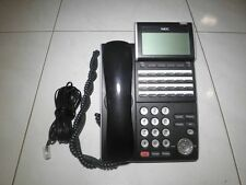 NEC DT300 SERIES PHONE MODEL:DLV(XD) Z-Y (BK) Telephone Handset +WARRANTY