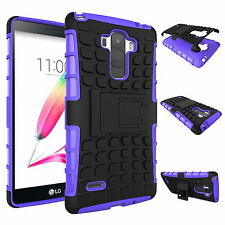 For LG G4/ G4c / G Stylo Case Heavy Tough Shockproof Stand Hard Armor Slim Cover
