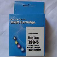 793-5 7935 Red Inkjet INK Cartridge For Pitney Bowes DM100i DM200L DM125i DM175i