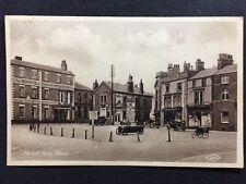 RP Vintage Postcard - Lincs. #C2 - Market Place, Alford - Cars Adverts Hotel