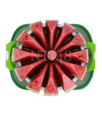 FRUIT WATERMELON MELON CANTALOUPE STAINLESS CUTTER SLICER KITCHEN TOOL NEW.