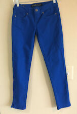 New STONE LOVE JEANS 0 Skinny Gorgeous Rich Blue Color Denim Ankle Baby