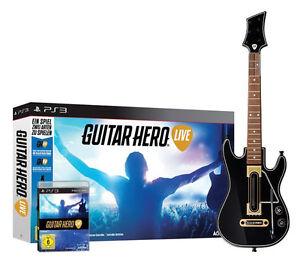 Guitar Hero - Live inkl. Gitarre für Playstation 3 PS3   Bundle   NEUWARE