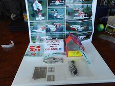 1/43 TAMEO KITS TMK: 289 Mc Laren TAG MP4/3 Brazilian 1987  M BOX