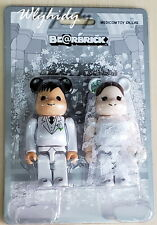 Bearbrick Wedding 100% -  Medicom Toy Plus