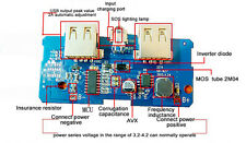 1X 5V 2A 1A Power Bank Charger Board Step Up Charging DIY Module Dual USB Output