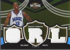 2006-07 Topps Triple Threads Relics Sepia #41 Dwight Howard ORL Jersey /27