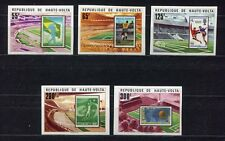 s5245) HAUTE VOLTA 1977 MNH** WC Football - CM Calcio 5v World Cup stamps IMPERF