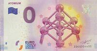 BILLET 0 EURO ATOMIUM REVERS BIG BEN 2017 A NUMERO 4400