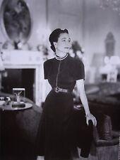 WALLIS SIMPSON sexy socialite clipping B&W photo 1945 dress Madeleine Vionnet