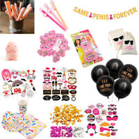 Bachelorette Hen Party Decoration Banners Balloon Confetti Tableware Adult Games