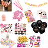 Bachelorette Party Decor Banners Balloon Confetti Tableware Adult Games Supplies