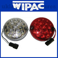 LAND ROVER DEFENDER LED FOG & REVERSE LIGHT / LAMP + PLUG UPGRADE KIT SET  WIPAC