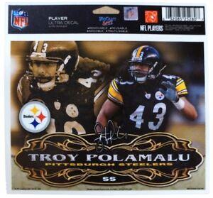 Pittsburgh Steelers Troy Polamalu Ultra Decal