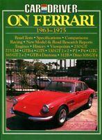 FERRARI BOOK CAR DRIVER 1963-1975 275 330 365 250 Daytona GT GTS GTB GTC 2+2