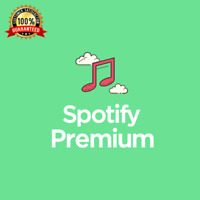 Spotify Premium 12 Months Upgrade | New Or Existing Account | Fast Delivery