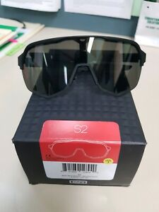 100% S2 Soft Tact Black - Smoke Lens