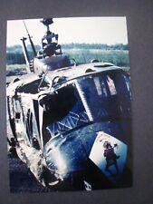 Vietnam War Photo  ...Huey helicopter nose art # 18