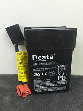 6 Volt Battery Neata Reata NT6-4 6V 4.0AH (3) / 20HR for Kid Trax and More