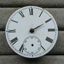 Waltham pocket watch movement for repair, 46mm, not numbered, loose balance and