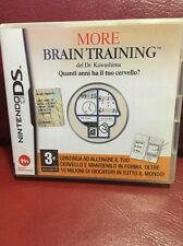 BRAIN TRAINING NINTENDO DS GIOCO PIATTAFORMA GAME LOGICA