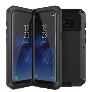 Shockproof Case Waterproof Metal Aluminum Armor Cover For Samsung S8 Note 9 S9