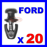 20 FORD MONDEO MK2 MK3 MK4 DOOR SEAL SILL SEALING STRIP CLIPS LOWER WEATHERSTRIP
