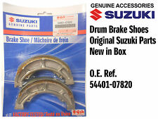 GENUINE REAR BRAKE SHOES TO FIT SUZUKI GN250 GN 250 T / W / X / Y / K1 (96-01)