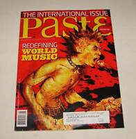 PASTE Magazine #45 ~ August 08 ~ with sealed CD