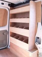 Vauxhall Vivaro  W/Box Racking Van Storage Plywood shelving