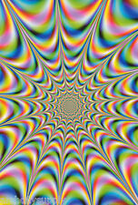 POSTER :  PSYCHEDELIC : CLASSIC FRACTALS -   FREE SHIPPING !  #24-045  RP77 P